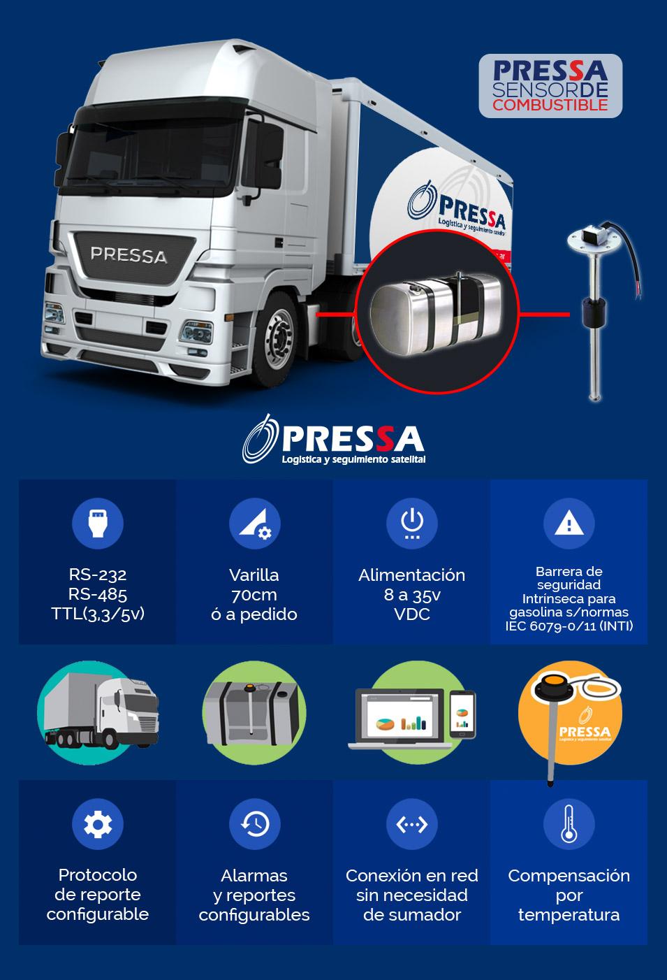 Pressa Sensor de Combustible